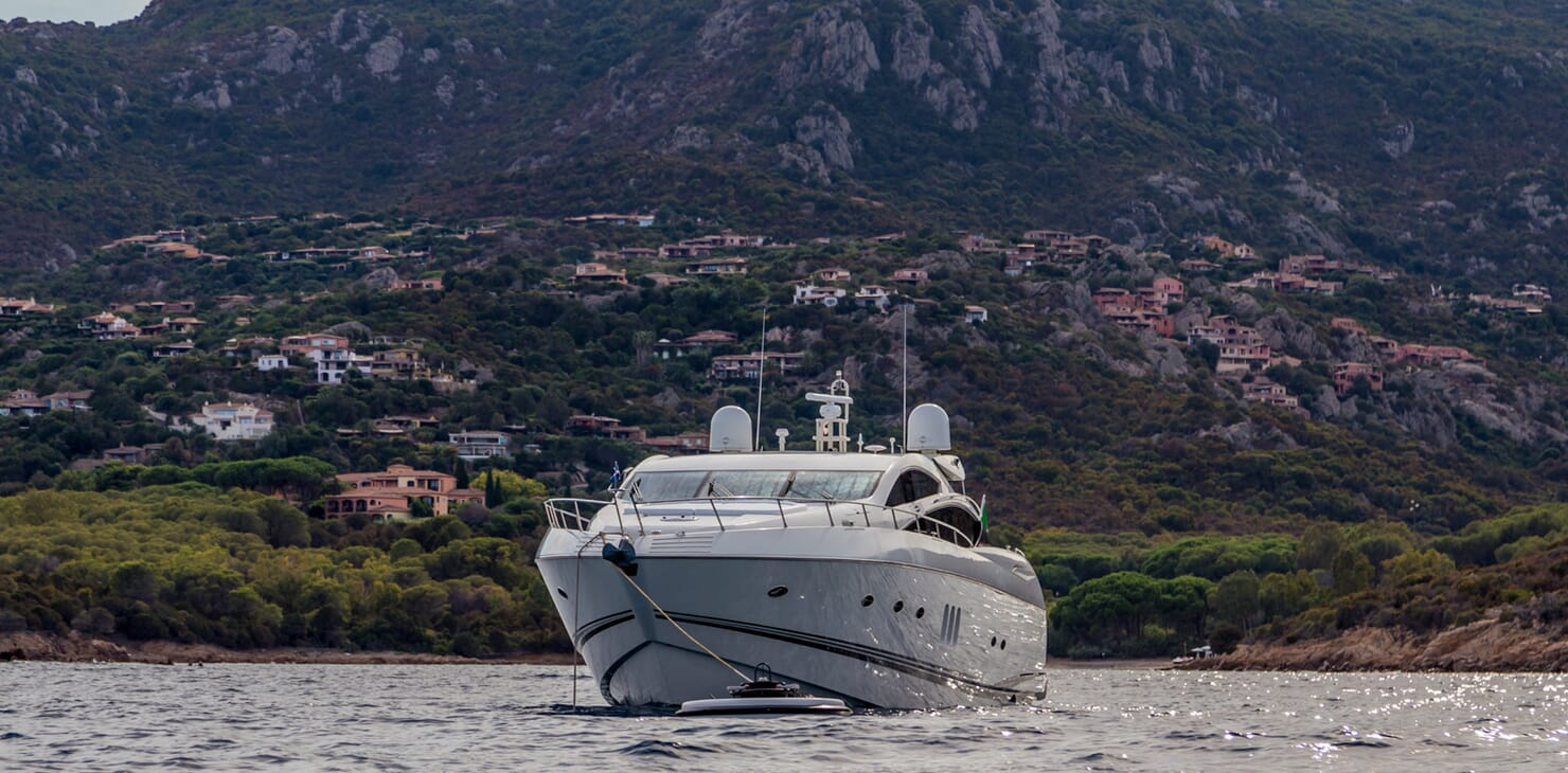 Motor Yacht Octavia anchored
