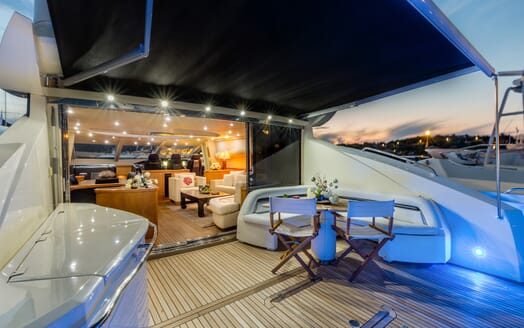 Motor Yacht Octavia main deck