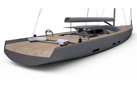 Sailing Yacht MM510 model