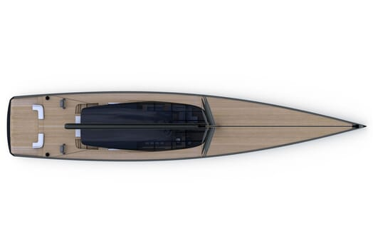 Sailing Yacht MM510 aerial