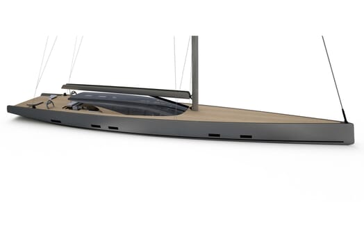 Sailing Yacht MM510 proposed development