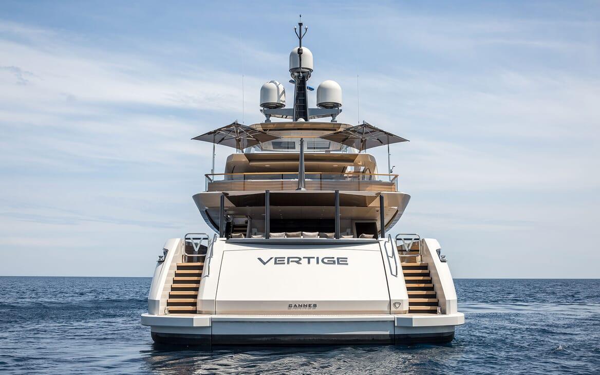 Motor Yacht VERTIGE Exterior Aft