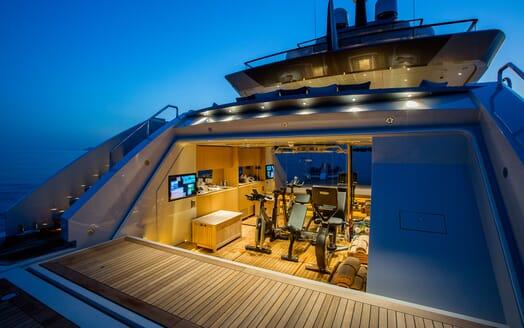 Motor Yacht VERTIGE Gym