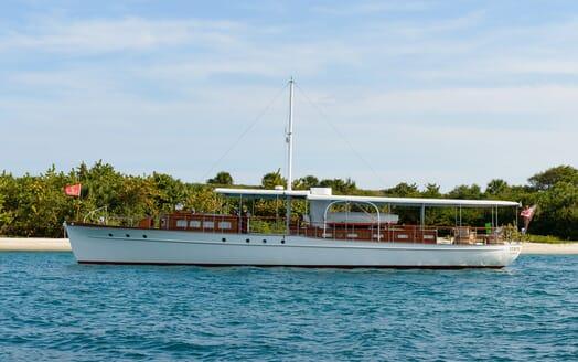 Motor Yacht Nymph exterior