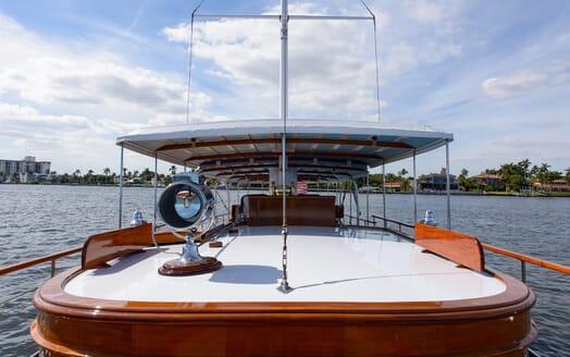 Motor Yacht Nymph main deck