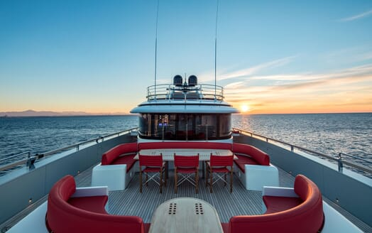 Motor Yacht EUPHORIA Sun Deck