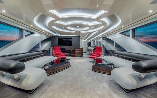 Motor Yacht EUPHORIA Upper Deck Saloon