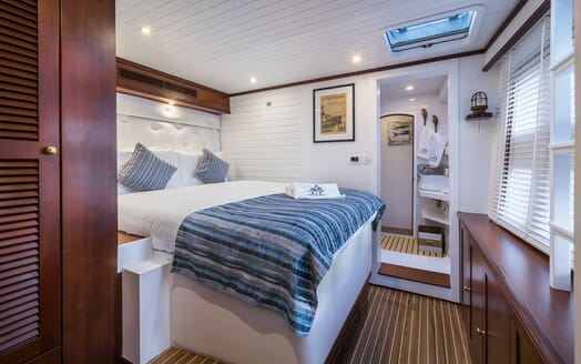 Sailing Yacht Ombre Blu 3 VIP cabin