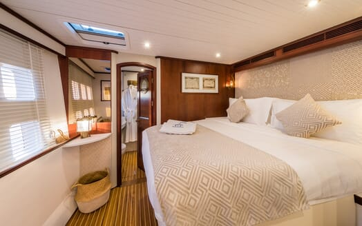 Sailing Yacht Ombre Blu 3 guest cabin