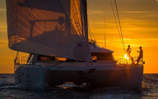 Sailing Yacht Ombre Blu 3 cruising