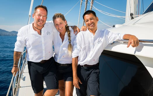 Sailing Yacht Ombre Blu 3 crew