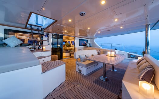 Sailing Yacht Ombre Blu 3 main deck
