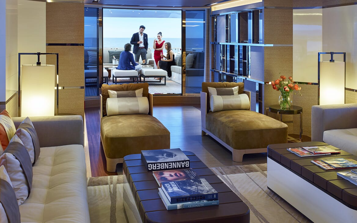 Motor Yacht Asya interior design