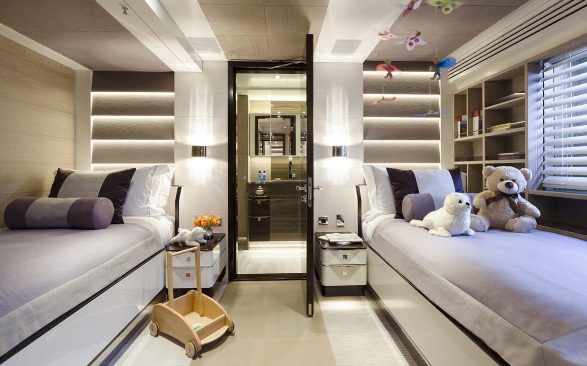 Motor Yacht Asya twin cabin