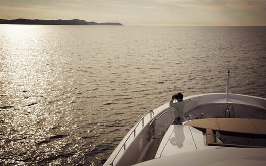 Motor Yacht Asya bow
