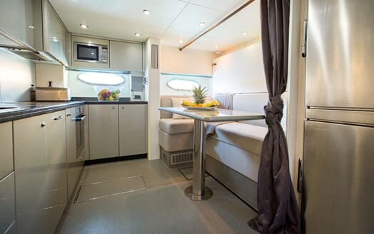 Motor Yacht Hooligan galley