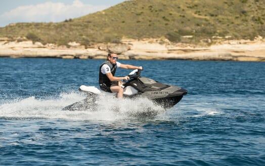 Motor Yacht Hooligan jetski