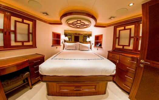 Motor Yacht LADY JJ Guest Double Stateroom