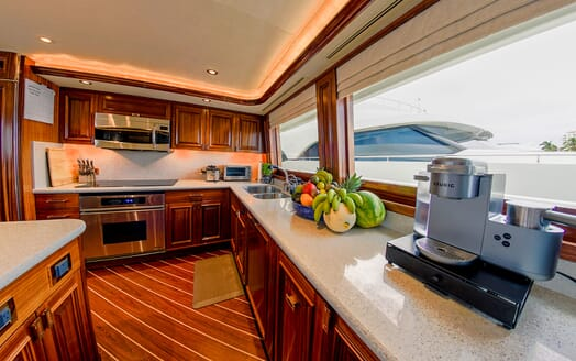 Motor Yacht LADY JJ Galley