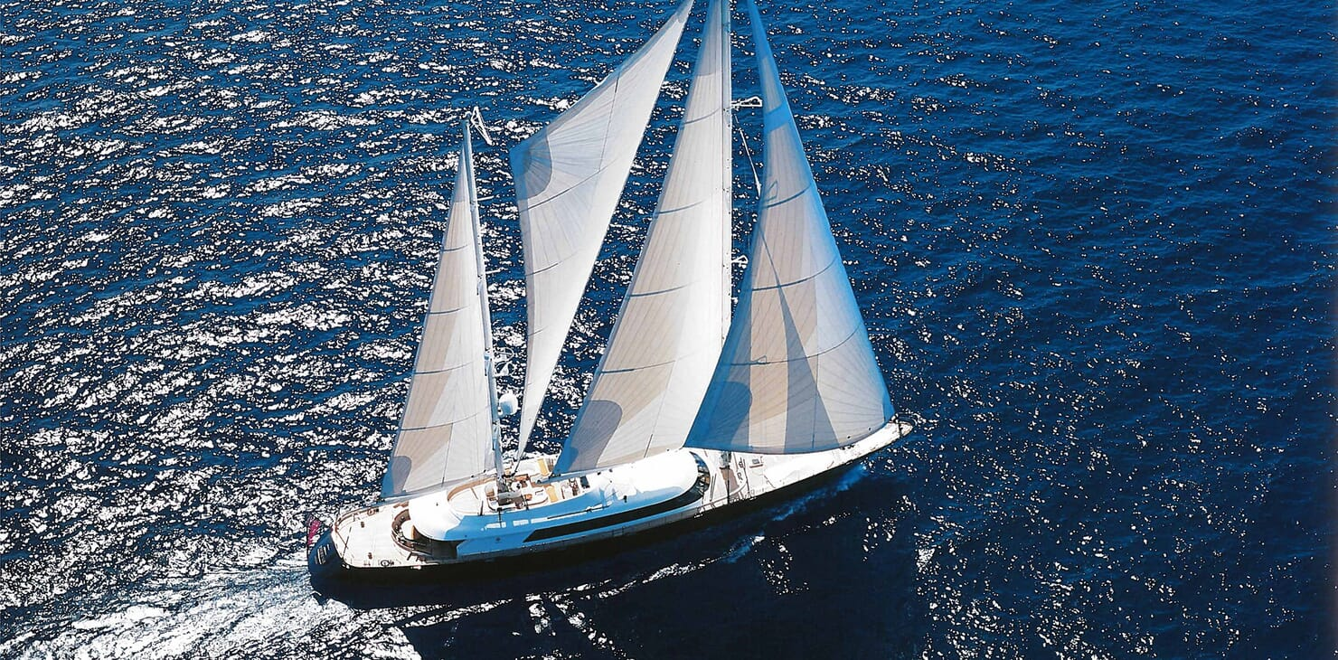 Sailing Yacht Phryne cruising