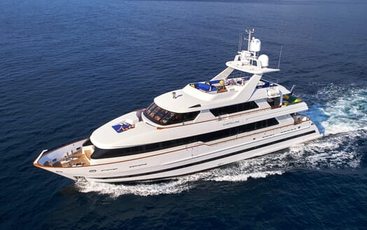Motor Yacht Castellina running shot
