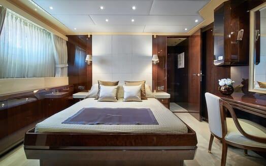 Motor Yacht Castellina  guest cabin