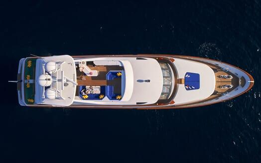 Motor Yacht Castellina  aerial