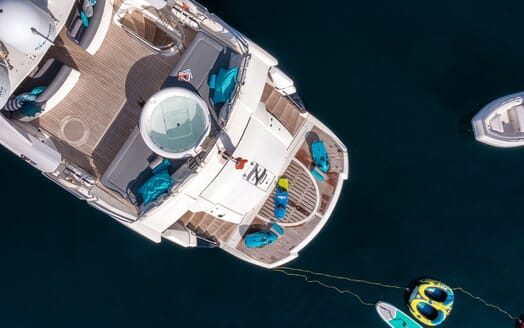 Motor Yacht Excelerate aerial