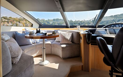 Motor Yacht Excelerate galley