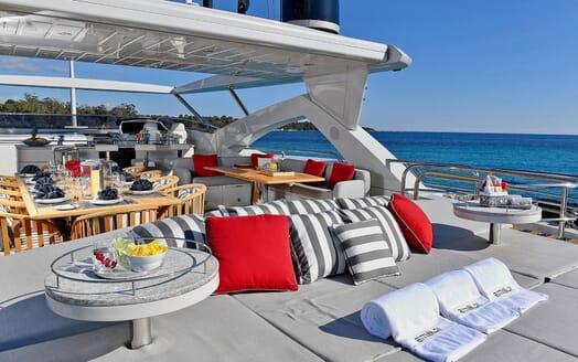 Motor Yacht EMOJI Sun Deck