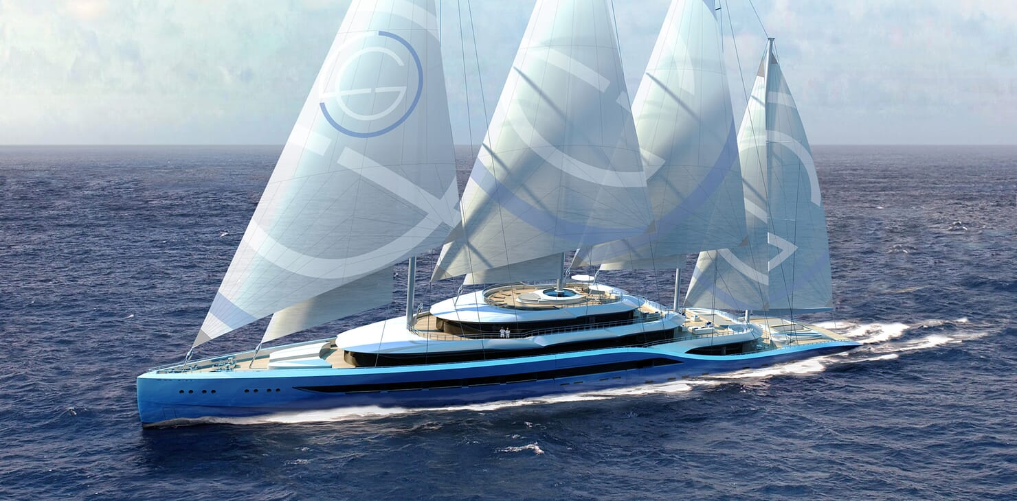 Sailing Yacht Atlas sailing