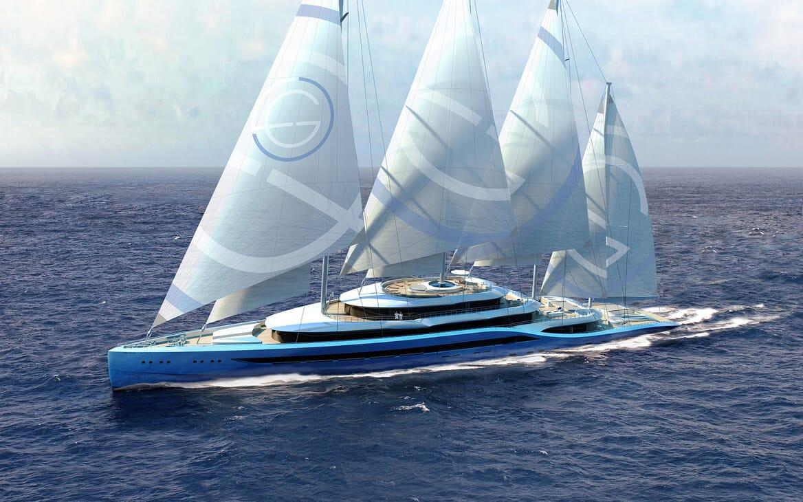 Sailing Yacht Atlas sailing
