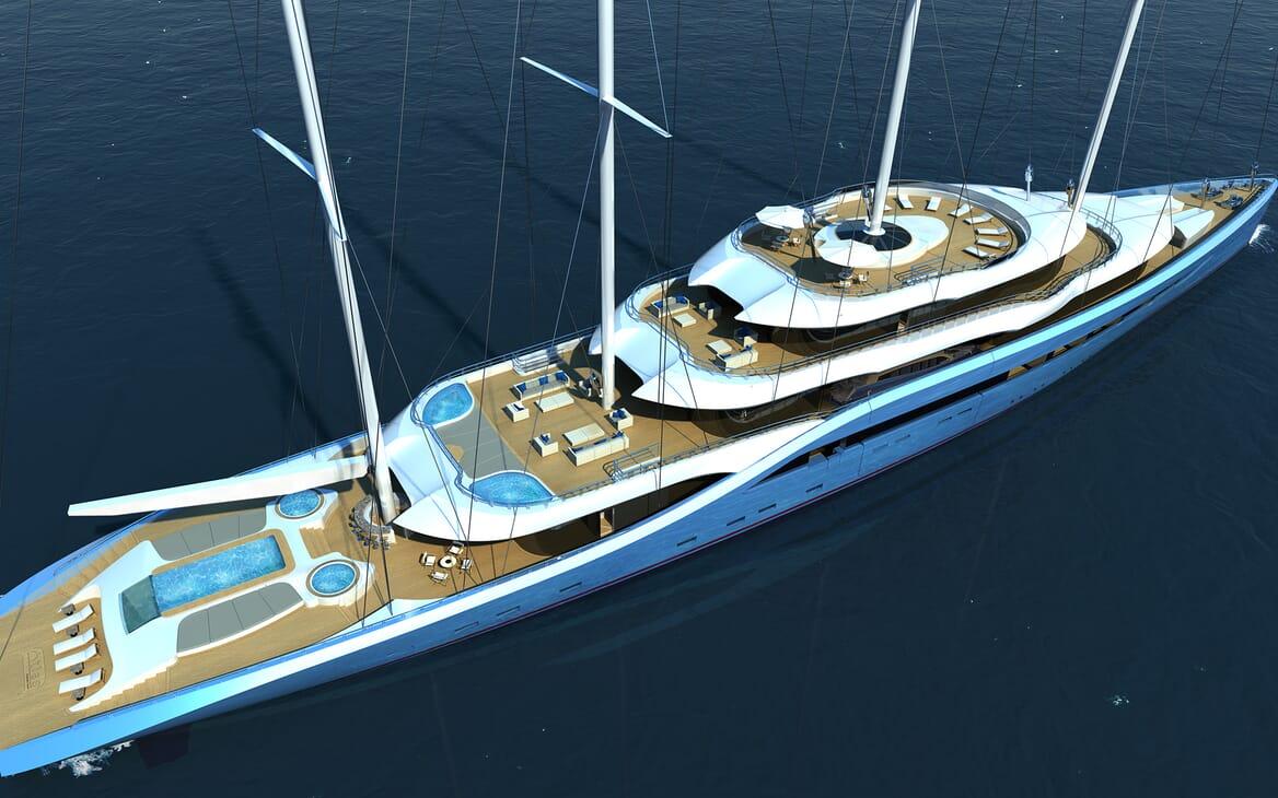 Sailing Yacht Atlas exterior