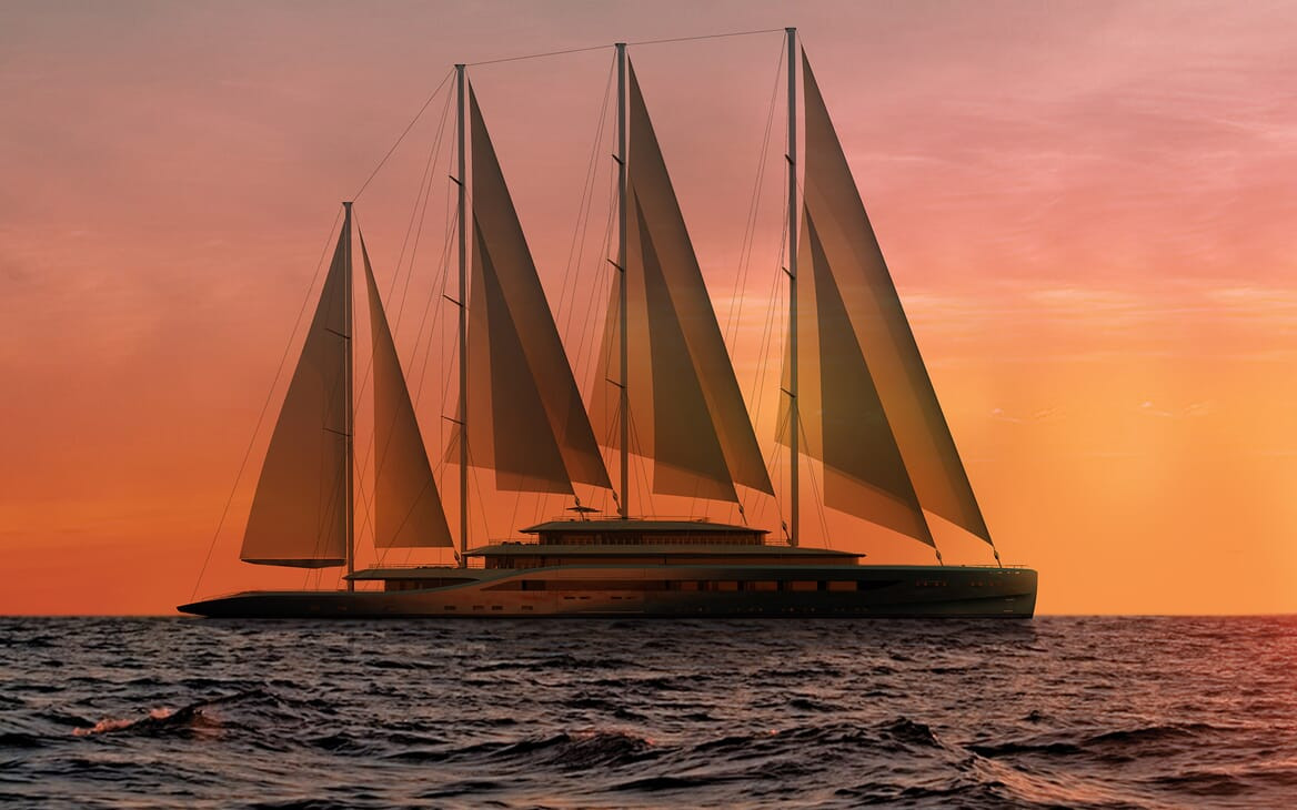 Sailing Yacht Atlas underway