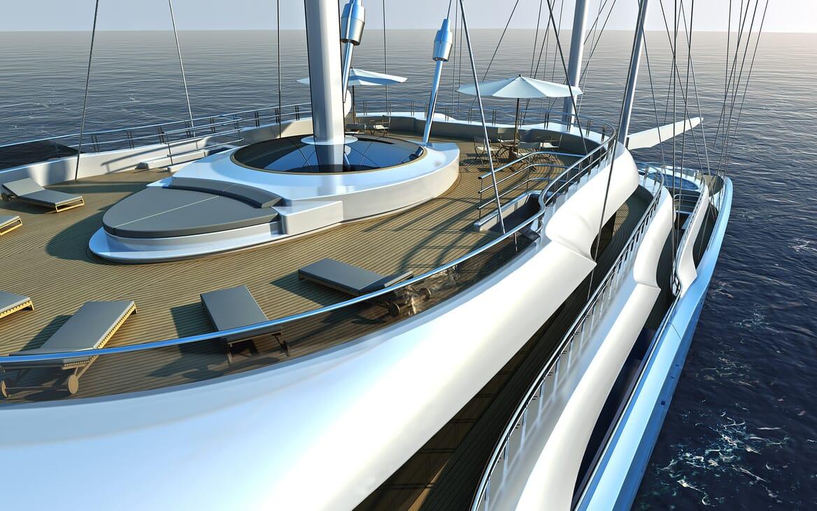 Sailing Yacht Atlas cruising