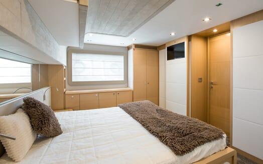 Motor Yacht Igele VIP cabin