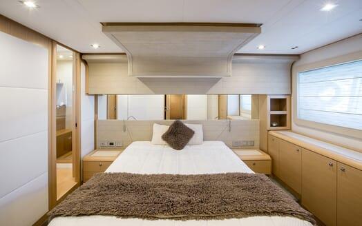 Motor Yacht Igele master cabin