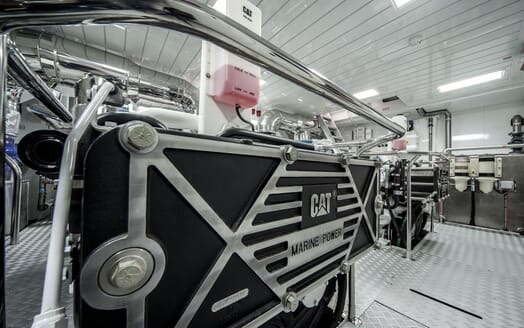 Motor Yacht Otam engine room