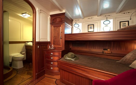 Sailing Yacht Atlantic twin cabin