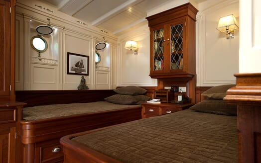 Sailing Yacht Atlantic twin stateroom