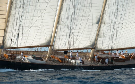 Sailing Yacht Atlantic under sail