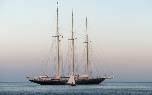 Sailing Yacht Atlantic anchored