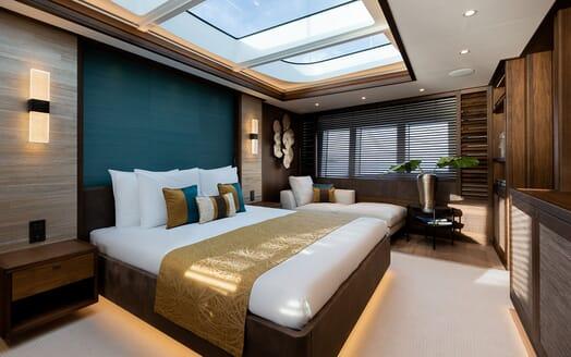 Motor Yacht MANA Master Stateroom