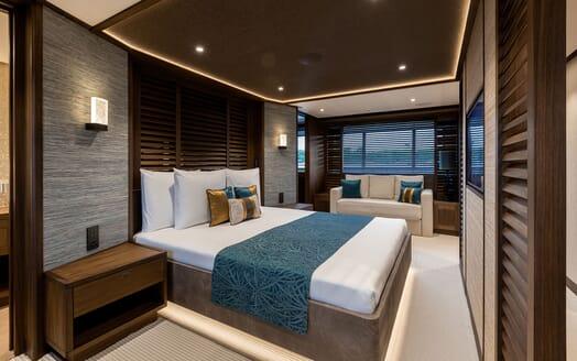 Motor Yacht MANA Double Stateroom