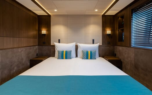 Motor Yacht MANA Guest Double Stateroom