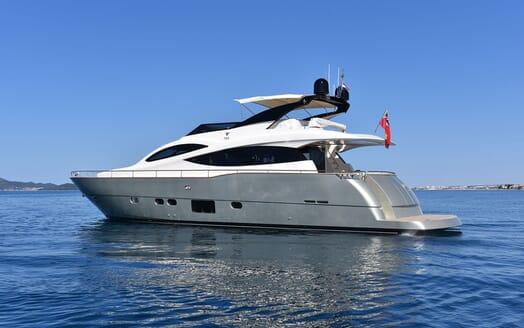 Motor Yacht JUST MINE Profile