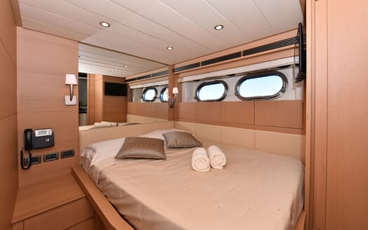 Motor Yacht JUST MINE Double Guest Stateroom