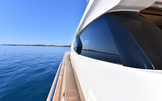 Motor Yacht JUST MINE Walkway
