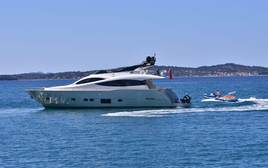 Motor Yacht JUST MINE Exterior with Toys