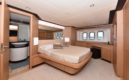 Motor Yacht JUST MINE Master Stateroom